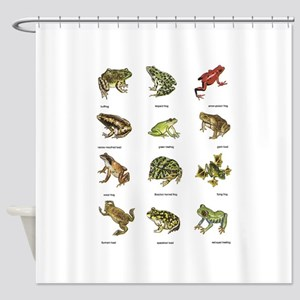 Frog and Toad Shower Curtain