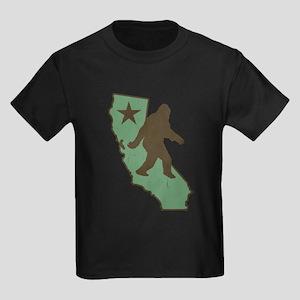 California Bigfoot (vintage distressed look) T-Shi