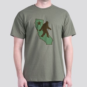 California Bigfoot (vintage distressed look) T-Shi