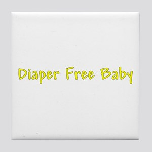 Diaper Free Baby Tile Coaster