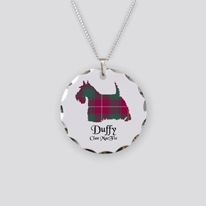 Terrier-Duffy.MacFie Necklace Circle Charm