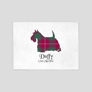 Terrier-Duffy.MacFie 5'x7'Area Rug