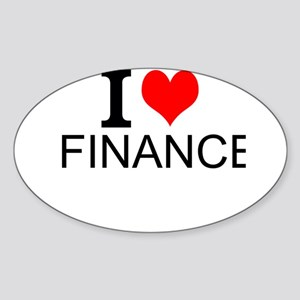 I Love Finance Sticker