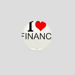 I Love Finance Mini Button
