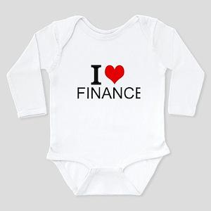 I Love Finance Body Suit