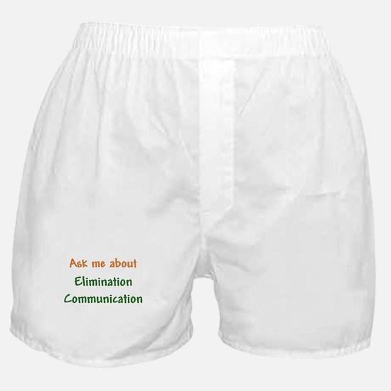 Ask Me About Elimination Communication Boxer Short