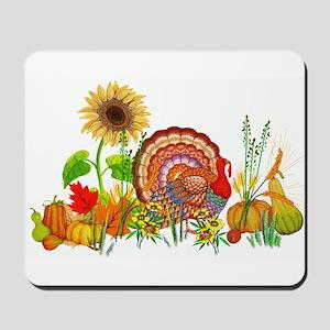 Autumn Thanksgiving Art Mousepad