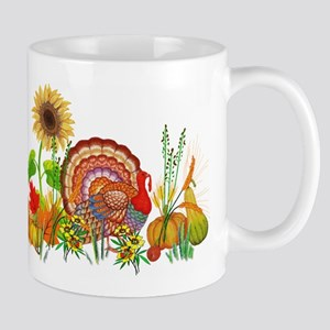 Autumn Thanksgiving Art Mugs