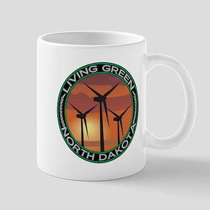 Living Green North Dakota Wind Power Mug