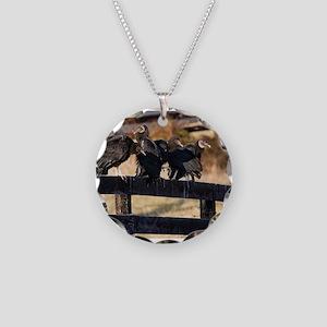 Black Vultures Necklace