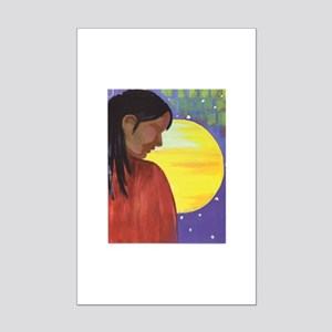 native sun mini poster print