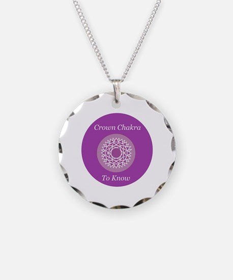 Crown Chakra - To Know Round Necklace