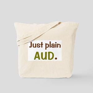 just plain aud/audball Tote Bag