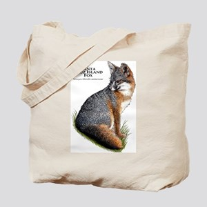 Santa Cruz Island Fox Tote Bag