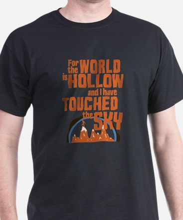 Star Trek Retro World Is Hollow T-Shirt