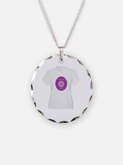 Crown Chakra Shirt Necklace