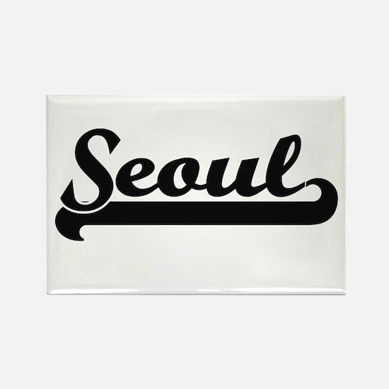 I love Seoul South Korea Magnets
