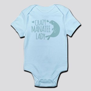 Crazy Manatee Lady Body Suit