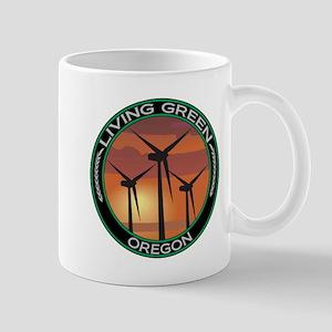 Living Green Oregon Wind Power Mug