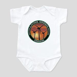 Living Green Oregon Wind Power Infant Bodysuit