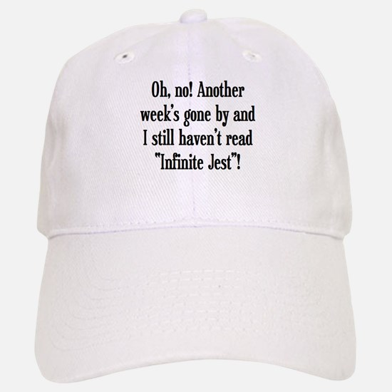 read infinite jest Baseball Baseball Cap
