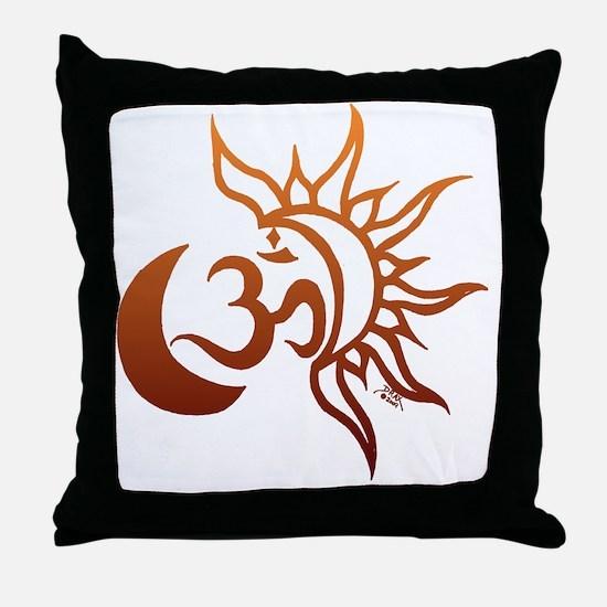 Funny Sunburst Throw Pillow