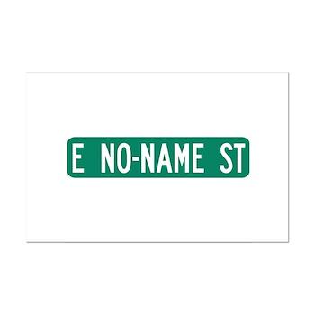 No-Name Street, Quartzsite (AZ) Mini Poster Print