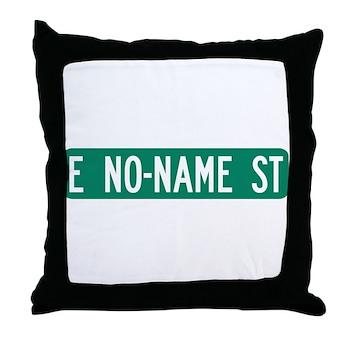 No-Name Street, Quartzsite (AZ) Throw Pillow