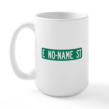 No-Name Street, Quartzsite (AZ) Large Mug