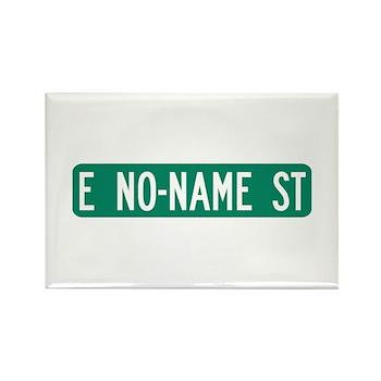 No-Name Street, Quartzsite (AZ) Rectangle Magnet