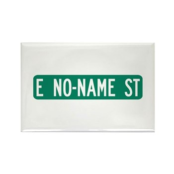 No-Name Street, Quartzsite (AZ) Rectangle Magnet (