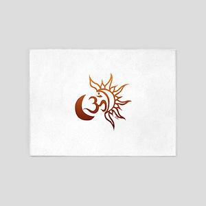 Celestial Om 5'x7'Area Rug