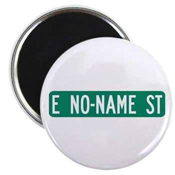 No-Name Street, Quartzsite (AZ) Magnet