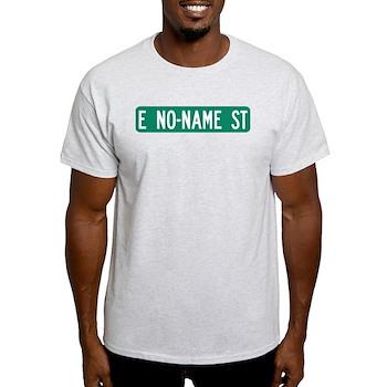 No-Name Street, Quartzsite (AZ) Light T-Shirt