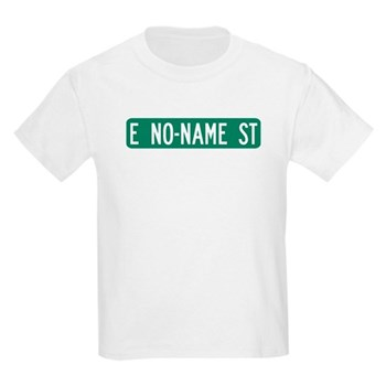 No-Name Street, Quartzsite (AZ) Kids Light T-Shirt