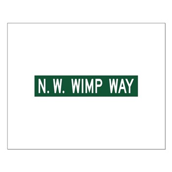 NW Wimp Way, Terrebonne (OR) Small Poster