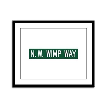 NW Wimp Way, Terrebonne (OR) Framed Panel Print