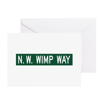 NW Wimp Way, Terrebonne (OR) Greeting Cards (Pk of