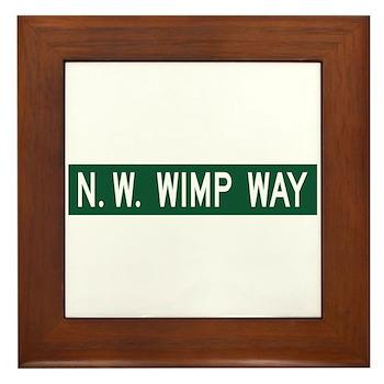 NW Wimp Way, Terrebonne (OR) Framed Tile