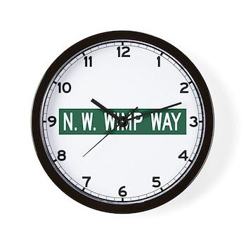 NW Wimp Way, Terrebonne (OR) Wall Clock