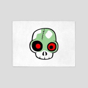 Zombie Head 5'x7'Area Rug