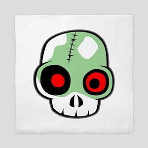 Zombie Head Queen Duvet