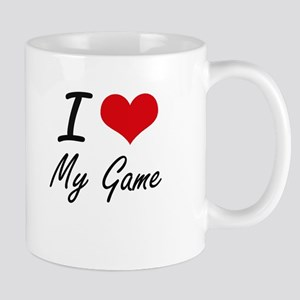 I Love My Game Mugs