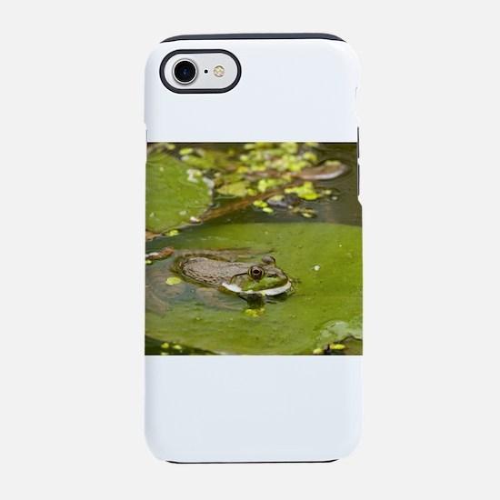 Green Frog iPhone 8/7 Tough Case