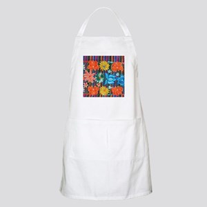 Mexican Flower Embroidery Apron