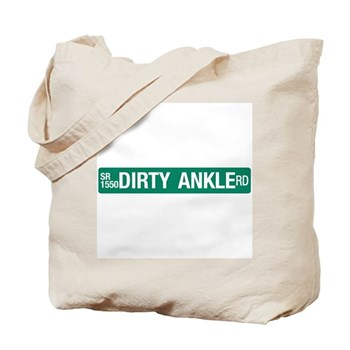 Dirty Ankle Road, Casar (NC) Tote Bag