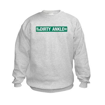 Dirty Ankle Road, Casar (NC) Kids Sweatshirt