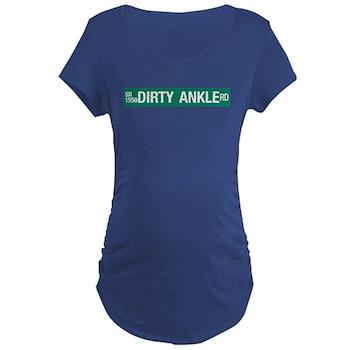 Dirty Ankle Road, Casar (NC) Maternity Dark T-Shir