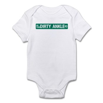 Dirty Ankle Road, Casar (NC) Infant Bodysuit