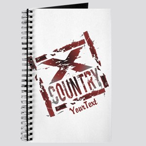 Customize Optional Text XC Cross Country Journal